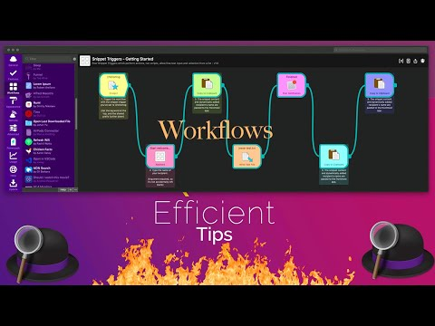 Efficient Tips (#2) - Alfred Workflows | Top Picks And How To Create Them