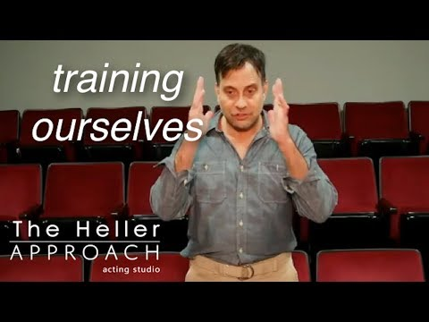 FREE ACTING LESSON: Training Ourselves