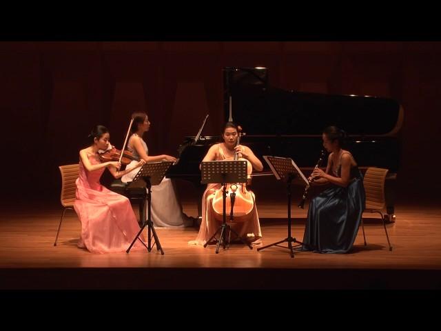 Night Flight(????) for Violin, Clarinet, Cello and Piano