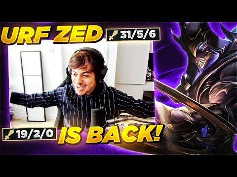 LL STYLISH | URF ZED  IS BACK!!!