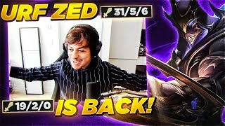 LL STYLISH   URF ZED  IS BACK!!!