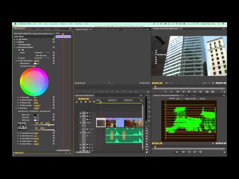 Tutorial Adobe Premiere Pro CC - Episode 17 - Color Correction within Premiere