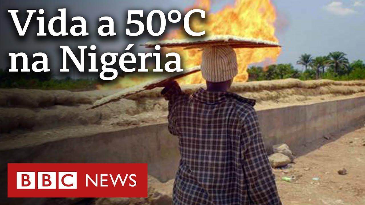 As queimas de gás tóxicas que afetam o clima e ameaçam a vida de milhões no país