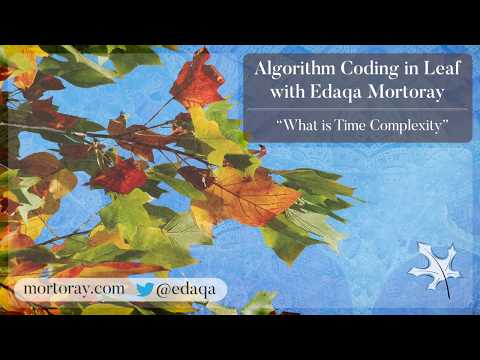 What is Time complexity? (Basic algorithm analysis)