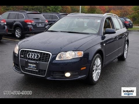2008 audi a4 avant 2 0t quattro avant youtube. Black Bedroom Furniture Sets. Home Design Ideas