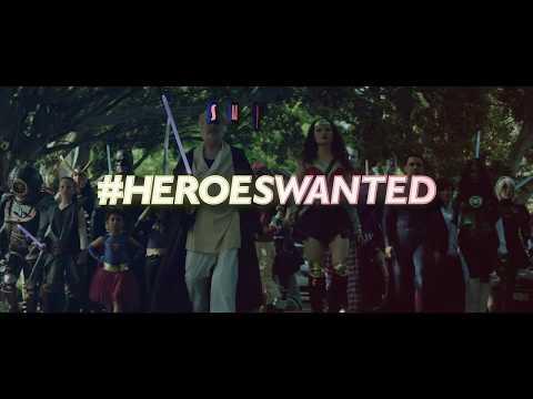 #HeroesWanted for Supanova 2018 - Gold Coast!