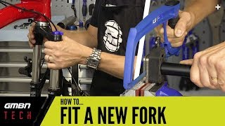 How To Replace Y๐ur Mountain Bike Fork