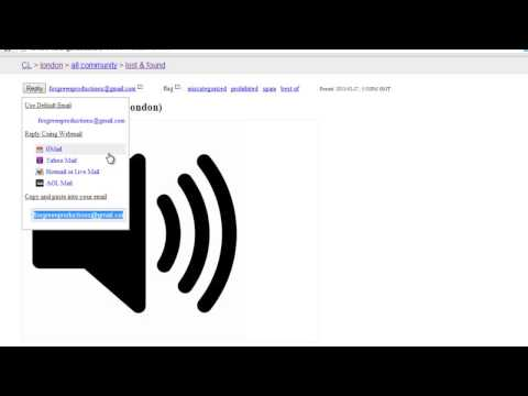 How to Lost and Found Pets Online in Craigslist - YouTube