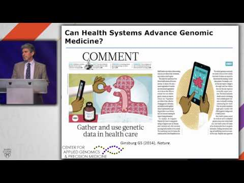 Realizing the Opportunities of Genomics in Health Care - Geoffrey Ginsburg, M.D., Ph.D.