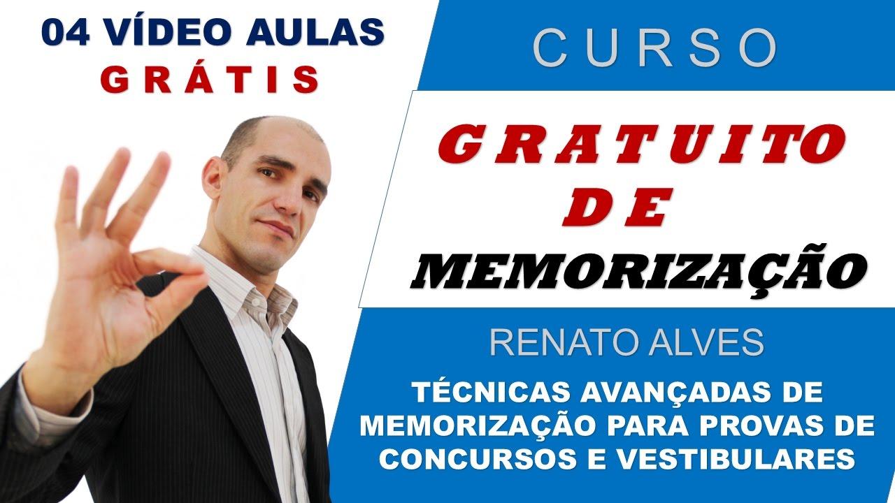 Curso Gratuito De Estudo E Memorizacao Renato Alves Tecnicas