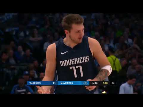 Luka Doncic (35 points) Highlights vs Golden State Warriors