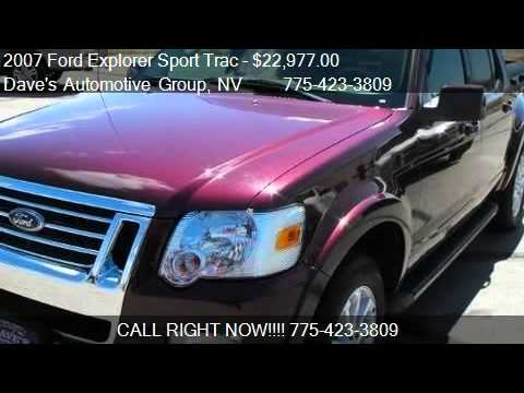 2007 Ford Explorer Sport Trac Limited - for sale in Fallon,