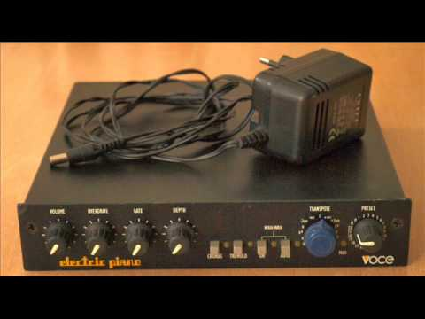 "Voce ""Electric Piano"" sound module audio demo"