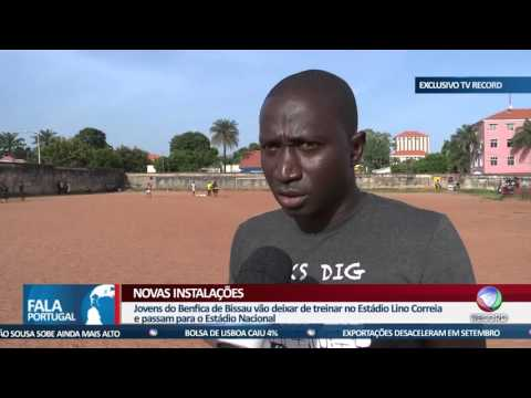 FALA PORTUGAL - Benfica com formação em Bissau