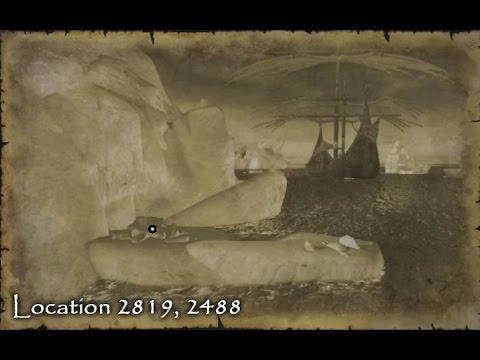 Neverwinter - Treasure Map Location - Northwest Ice Shelf