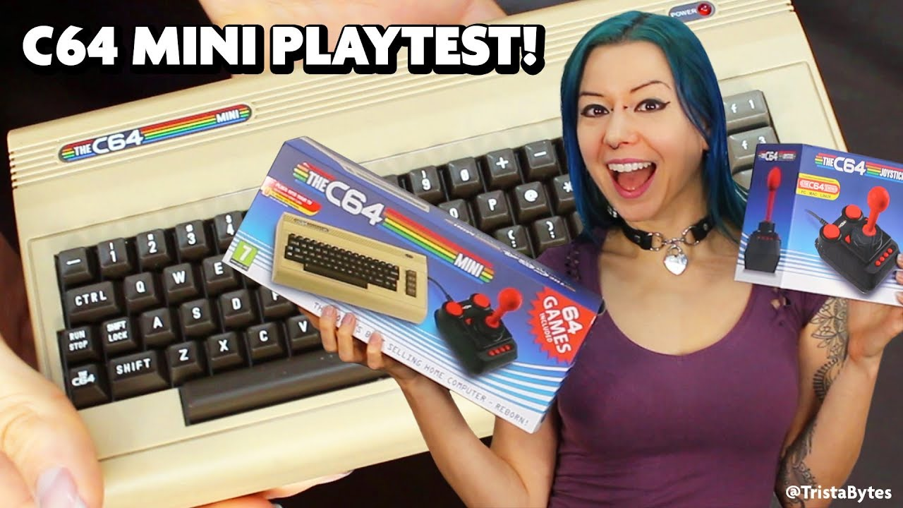 The Commodore 64 Reborn As The C64 Mini! Unboxing, Playtest & Review