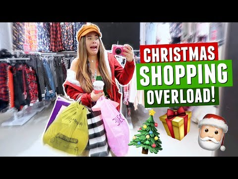 COME SHOPPING WITH ME! Christmas Gifts, Victoria's Secret, Sephora, and MORE!