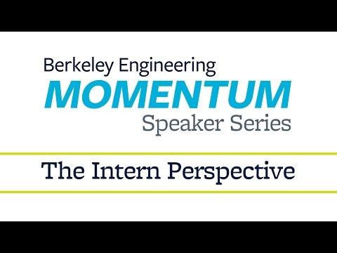 Momentum Speaker Series    The Intern Perspective