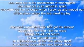 Passenger - All the little lights Lyrics On Screen