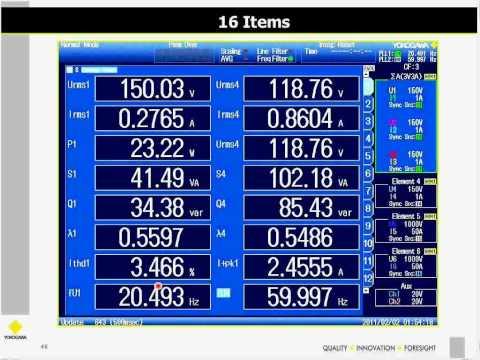 Webinar - Advances in Precision Electrical Power Measurement