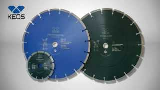 Обзор алмазных дисков KEOS