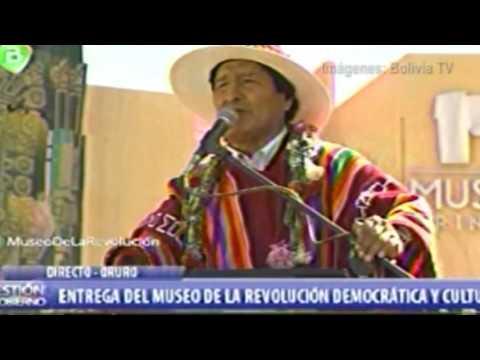 Evo Morales inaugura Museo de la Revolución