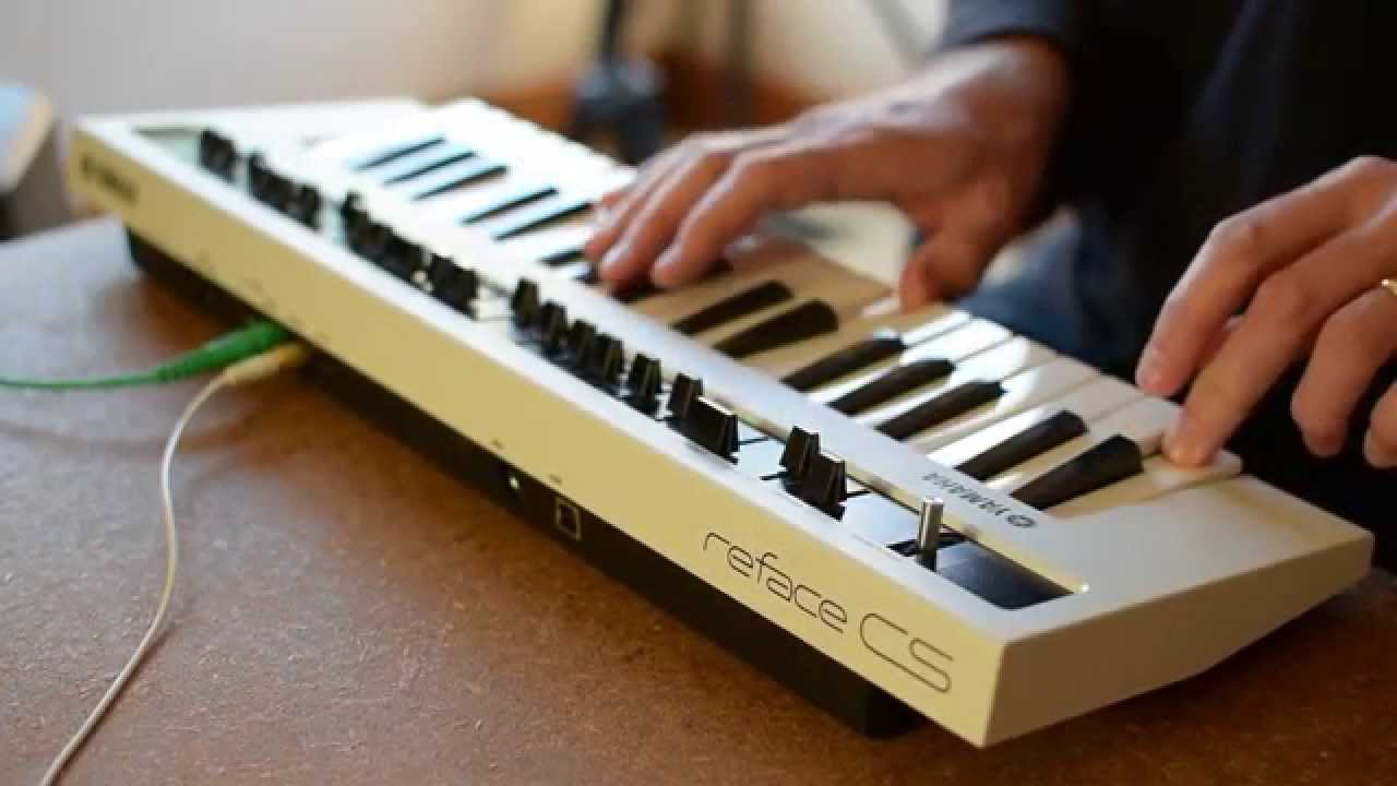 Yamaha CS, CP, YC, DX Reface Keyboards Demonstration