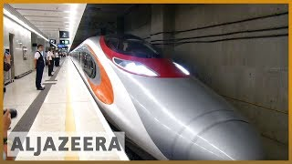 🇨🇳Hong Kong's new high speed rail link with China stirs controversy l Al Jazeera English
