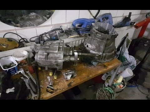 Opening the ZF gearbox - YouTube