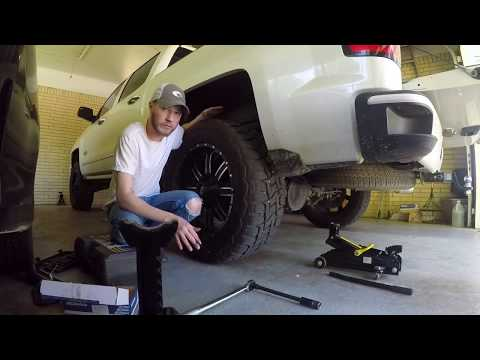Changing Brakes Rear 2014 - 2018 Chevy Silverado Or GMC Sierra