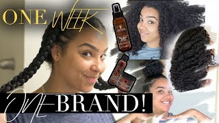ONE BRAND ONE WEEK in my HAIR! Day to Day Hair Vlog!