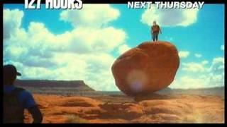 127 HOURS IN THREATRES NEXT THURSDAY (FEB 10, 2011)