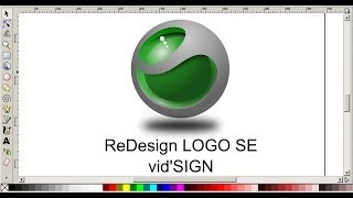 Redesign Logo Sony Ericsson Using Inkscape