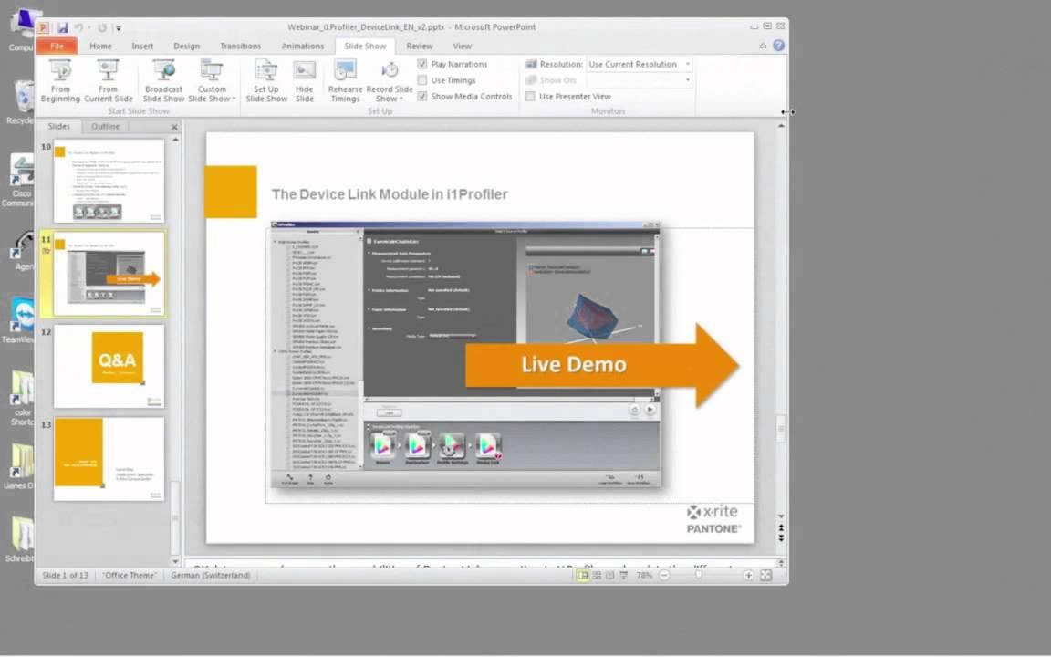 EN - i1Profiler & Device Link English Webinar - Presenter: Liane May