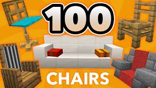 100 Minecraft Chair Ideas (Furniture Design)