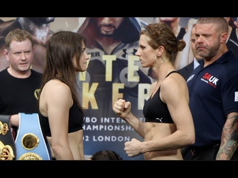 WAR TAYLOR!! - KATIE TAYLOR v KIMBERLEY CONNOR - OFFCIAL WEIGH-IN / WHYTE v PARKER