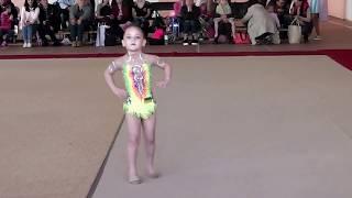 Просто мы маленькие звезды художественная гимнастика Теслюк Злата 2013