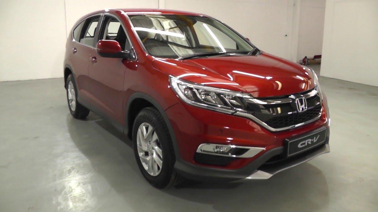 2016 Honda Crv For Sale >> Honda CR-V 2.0 SE in passion red pearl , video walkaround ...