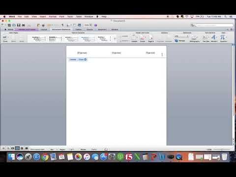 Creating an APA Template for Mac - YouTube