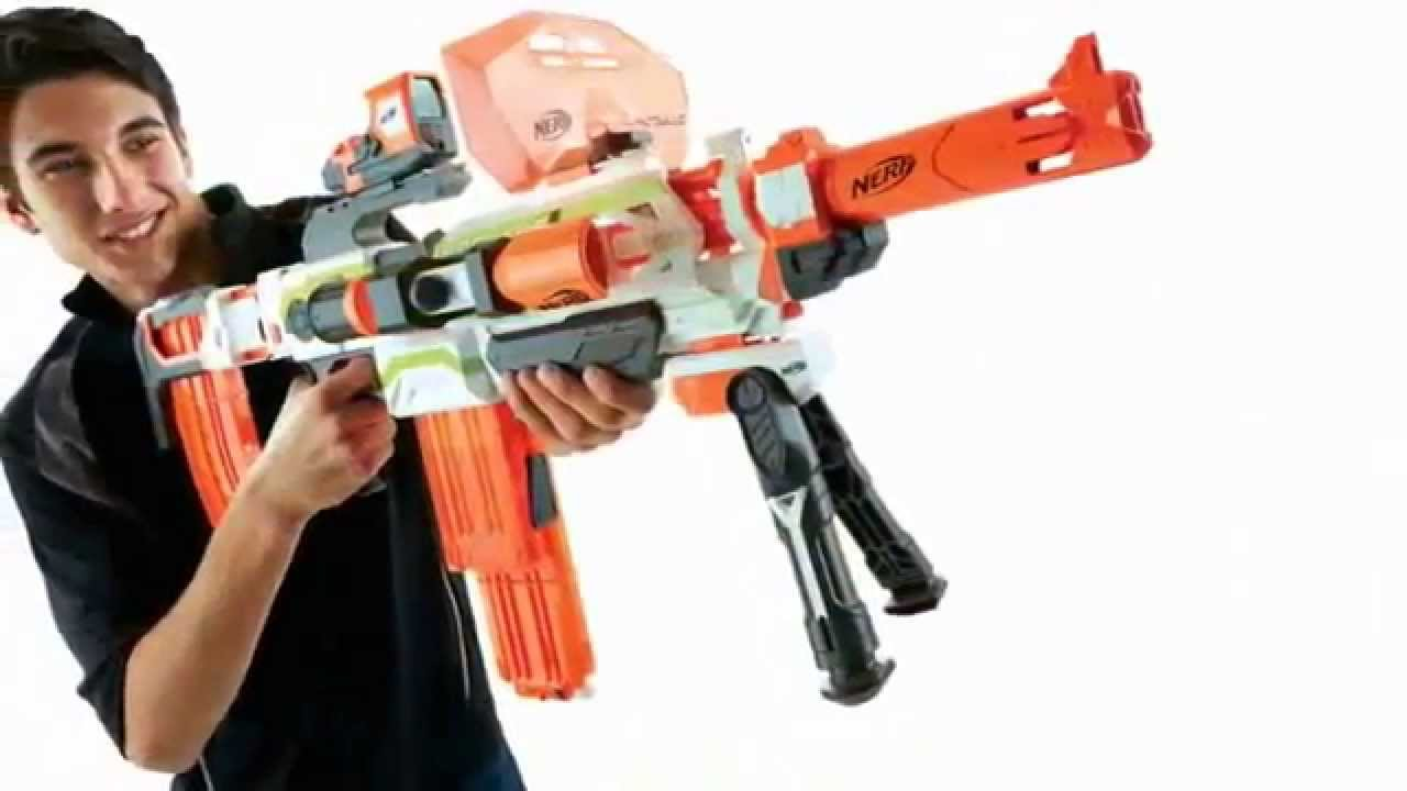 Guns For Boys Christmas Toys : Nerf n strike modulus ecs blaster review best xmas