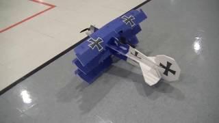 Twisted's team pilot Benton Griffin fly's his Crack Fokker Dr1 Tri-...