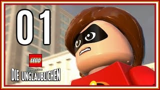 Lego Die Unglaublichen 01 Superhelden sind ILLEGAL! (Lets Play, Gameplay, deutsch, PS4, 1080p)