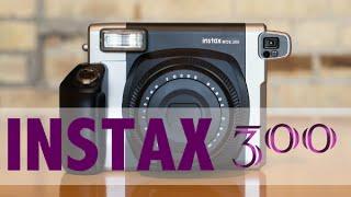 обзор и тест фотоаппарата fujifilm instax wide 300. Полароид нашего времени - instax !