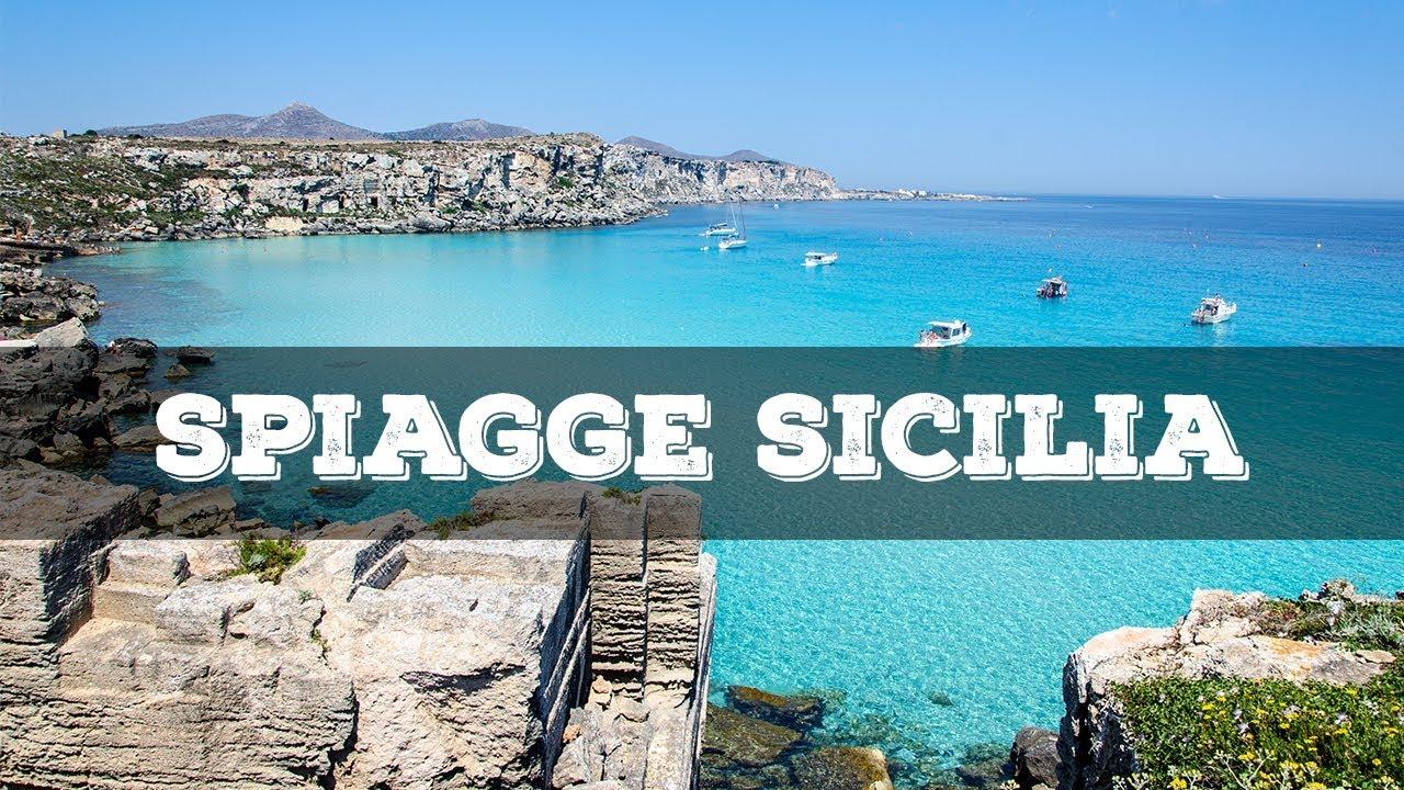 Cartina Spiagge Sicilia Orientale.Top 10 Spiagge Piu Belle Della Sicilia Youtube