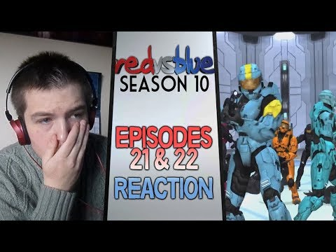 Red vs. Blue Season 10 Episodes 21 & 22 Reaction