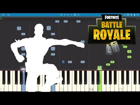 Fortnite Dances Best Mates Piano Tutorial How To Play Best Mates