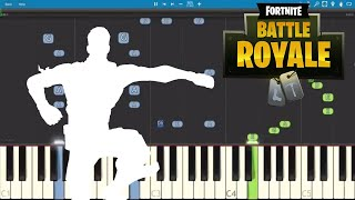 Fortnite Dances - Best Mates Piano Tutorial - How to Play Best Mates Dance