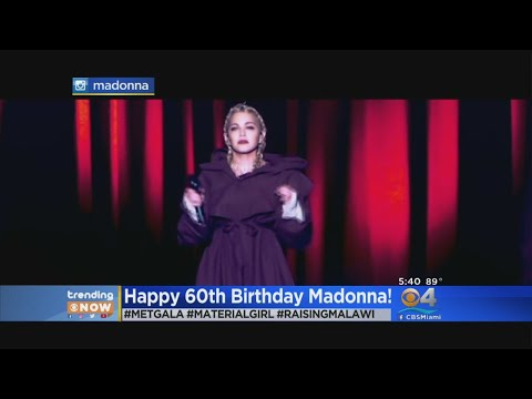 Trending: Madonna Celebrates 60th Birthday