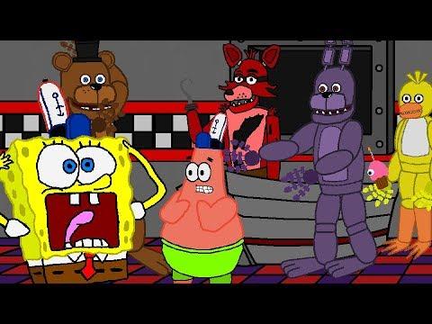 SpongeBob FIVE NIGHTS AT FREDDYS PART 3