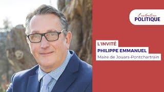 L'Entretien Politique avec…Philippe Emmanuel, maire de Jouars-Pontchartrain